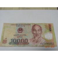 Вьетнам, 10 000 донгов (полимер) VF