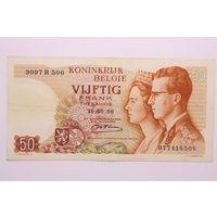 Бельгия, 50 франков 1966 год