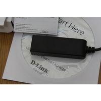 Внешний сетевой адаптер D-link Dub-E100