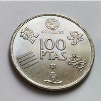 Испания 100 Песет 1980 год.