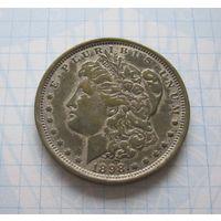 США 1 доллар 1898 - КОПИЯ