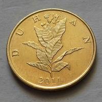 10 лип, Хорватия 2011 г., UNC