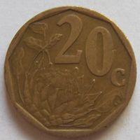 20 центов 1999 ЮАР