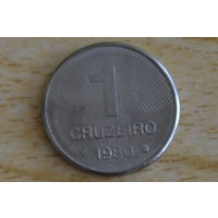 Бразилия 1 крузейро 1980