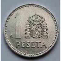 Испания 1 песета, 1985 г.