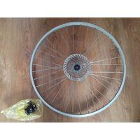 """Велосипедный обод 26"""" передний, с дисковым тормозом."""