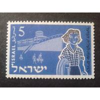 Израиль 1955 корабль