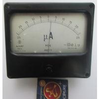 Микроамперметр 25-0-25