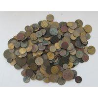 Дореформенные монеты СССР,20-е-30-е-40-е-50-е гг,свыше 300 шт.!не перебирались,С РУБЛЯ
