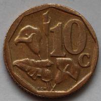 10 центов 2010 ЮАР