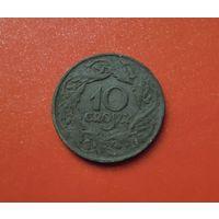 Польша (немецкая оккупация) 10 грошей 1923 (цинк)