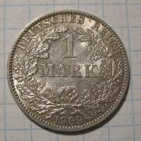1 марка, 1909А год.