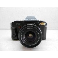 Фотоаппарат Pentax P50 с объективом Cosina 24mm 1:2.8 Macro
