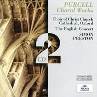 Purcell. Choral Works - Simon Preston (Audio CD)
