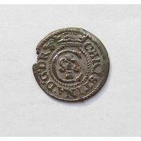 Шиллинг 1644 Рига Кристина Августа Ваза Прибалтийские владения Швеции