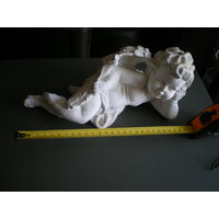 "Статуэтка гипсовая ""Ангелочек"", 28х12х12 см."