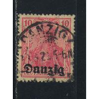 Данциг 1920 Надп #2