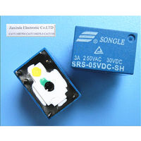 Малогабаритное реле HM4101F-HS (5VDC, одна группа контактов на переключение)