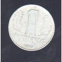 1 пфенниг Германия 1975_Лот #0375