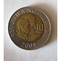 Филиппины. 10 писо 2004. Большая распродажа коллекции