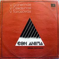 V. Ganelinas, V. Tarasovas, V. Cekasinas, Con Anima, LP 1977