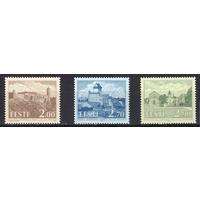 1993 Эстония средневековые замки и крепости серия** архитектура