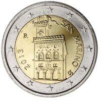 2 евро 2013 Сан-Марино UNC из ролла