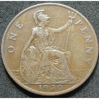 Великобритания 1 пенни 1930
