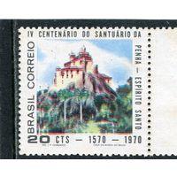 Бразилия. Монастырская церковь