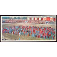 Вильнюс Республиканский праздник школьников на стадионе Жальгирис