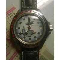 Часы новые мужские механические Командирские Военноморские