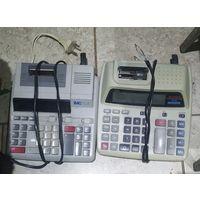 Калькуляторы с принтерами.