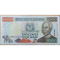 Танзания 1000 шиллингов 2000 г.