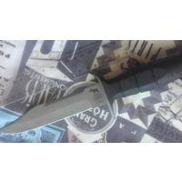 """Нож производство Россия. Резиновая рукоять,клеймо производителя-""""Саро"""". Нож типа НР. Куплен в магазине,не является холодным оружием!"""