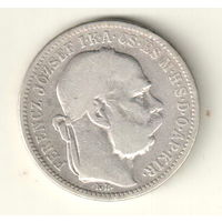 Венгрия 1 крона 1893