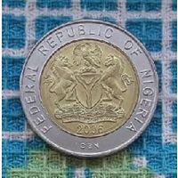 Нигерия 1 найра 2006 года, UNC