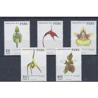 [1481] Перу 1973. Флора.Цветы.Орхидеи.