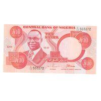 10 найра 2004 года Нигерии