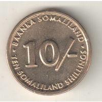 Сомалиленд 10 шиллинг 2002