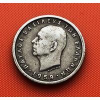 118-11 Греция, 1 драхма 1959 г.