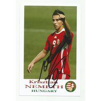 Krisztian Nemeth(Венгрия). Фотография с живым автографом #2