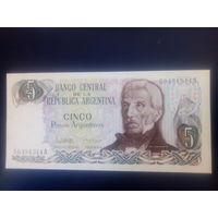 Аргентина 5 песо