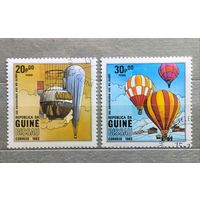 Гвинея.1983г.Воздушные шары.