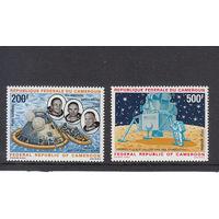 Космос. Аполлон-11. Камерун. 1969. Полная серия. Michel N 600-601 (18,0 е)