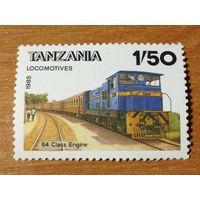 Танзания 1985. Локомотив. Поезд