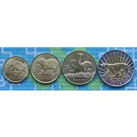 Уругвай 1, 2, 5, 10 песо. UNC. Инвестируй в монеты планеты!