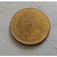 50 песо 1980 г. Аргентина