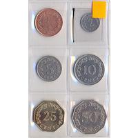 Мальта комплект монет (6 шт.) 1972-1977 гг. скидки.