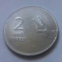 2 рупии, Индия 2010 г.
