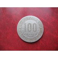 100 франков 1975 года Камерун